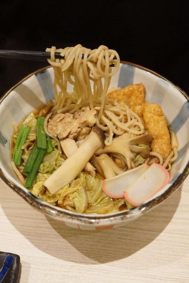Available for limited period, till end of November, diners can enjoy Takane Ruby Soba, soba that made with Takane Ruby buckwheat.  With three times higher than regular buckwheat and high nutrition.