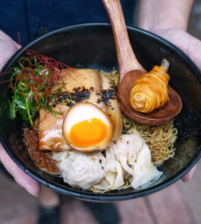 Atas Singapore Style Ramen, A Noodle Story.