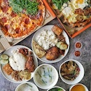 SOCIEATY, a multi-concept restaurant by Les Amis Group, featuring seven of the group's favourite under one roof, offerings, Mui Kee, Pepperoni Pizzeria, Lemak Boys, NamNam, Tenjin, and Tarte by Cheryl Koh (the last 2 not available for delivery due to quality control ).