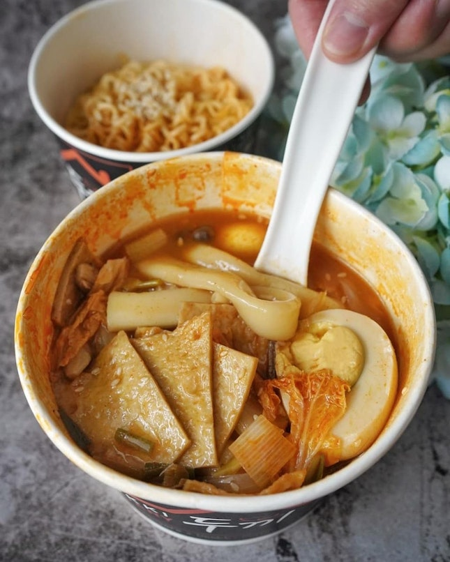 Dooki just launched takeaway menu, so for customers who's missing Korean food, they can order and takeaway from Dooki.