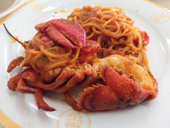 Lobster Pasta - S$16.50