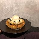 Gula Melaka Ice Cream with Waffle ($14.90++)
