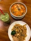 Pad Thai, Tom Yum Noodles ($5)