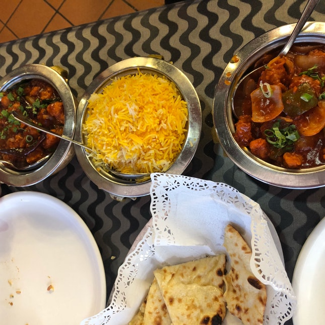 """As the menu says- """"Probably the best Northern Indian restaurant in Singapore"""""""