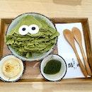 Uji Matcha Monster Ice Cream