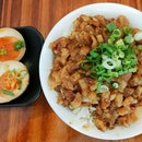 Braised Pork Rice With Braised Egg ($6.50)