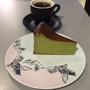 Matcha Burnt Cheesecake Lover