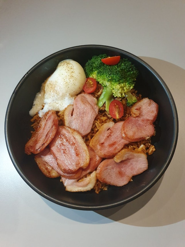 XO Fried Rice With Smoked Duck Bowl