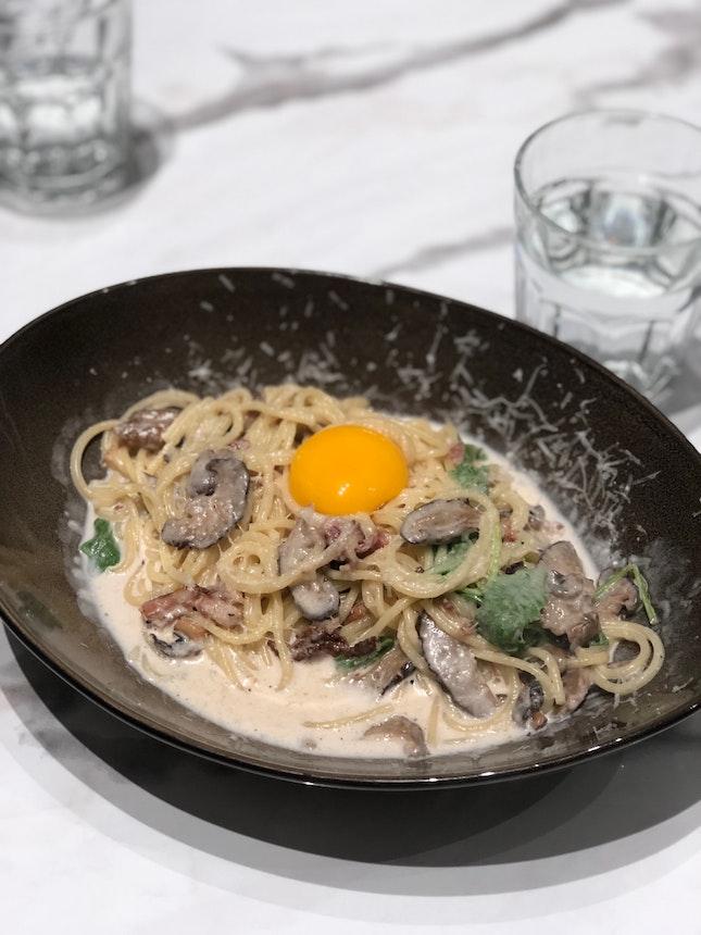 Carbonara With Parmesan ($19)