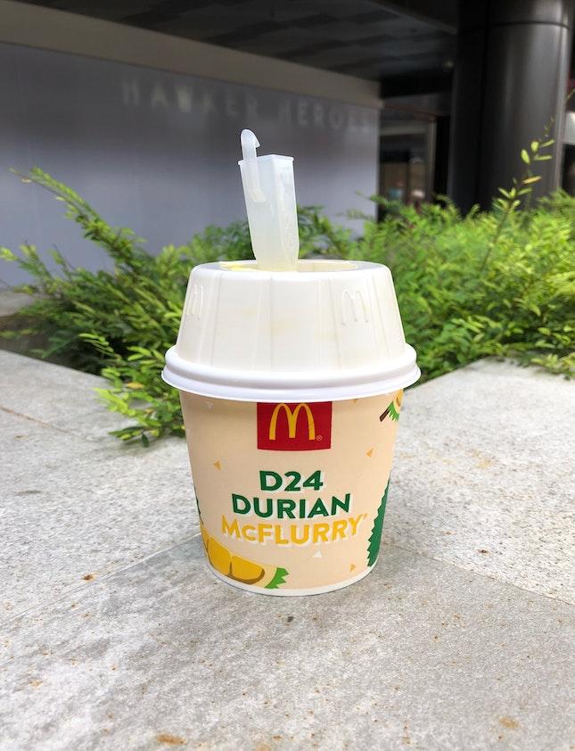 McDonald's - Durian McFlurry