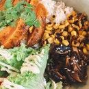 Lemongrass Chicken Rice Bowl