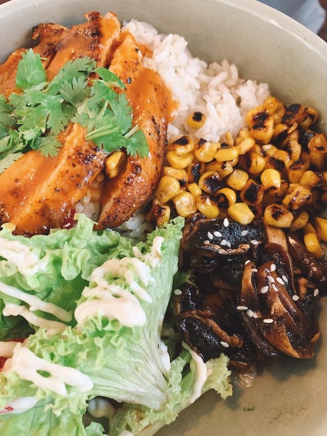 Lemongrass Chicken Rice Bowl