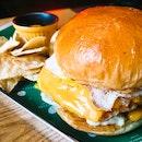 Cheesy Melty Burger