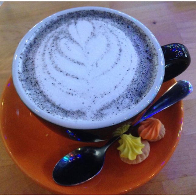 Black Sesame Latte $5.50++