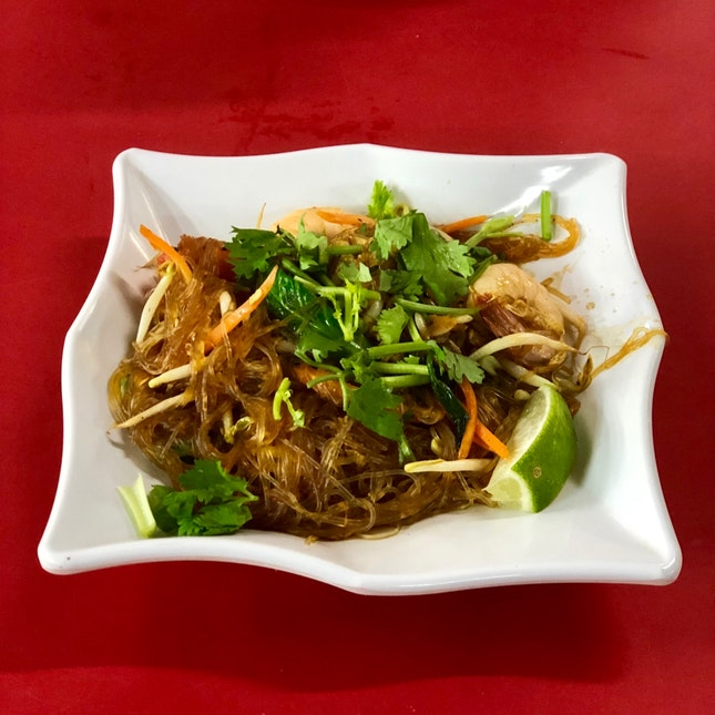Thai Fried Vermicelli $4.50