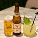 Elderflower Blossoms $9++, Kirin Beer $7.8++