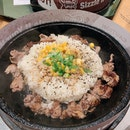 beef pepper rice ($9.90)