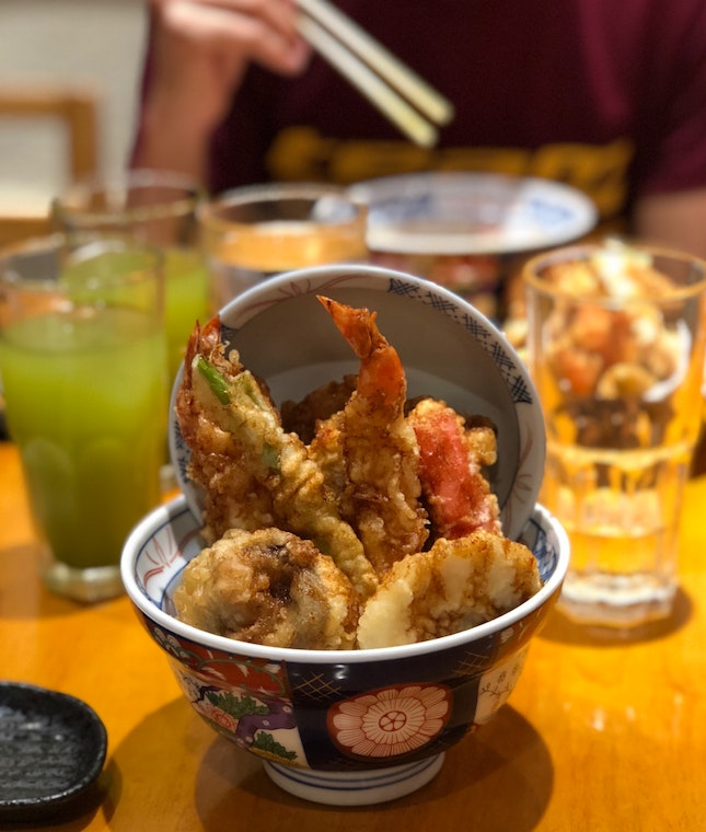 Spicy Tendon with Multigrain Rice