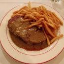 Good steak & fries