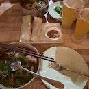 Appetising vietnamese food