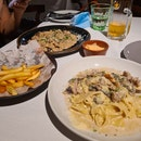 Nice ambience and food