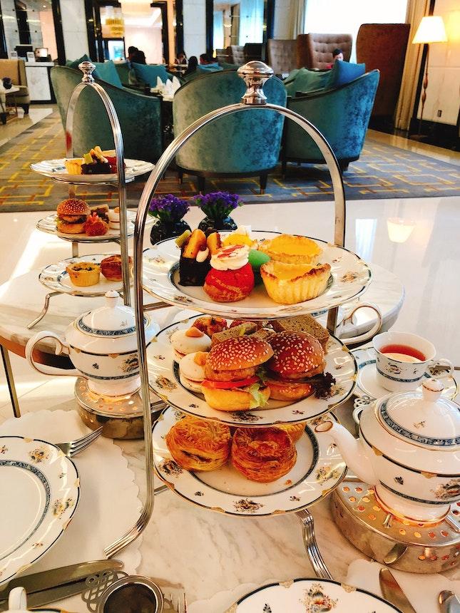 Three-tier Afternoon Tea Set at The Ritz-Carlton