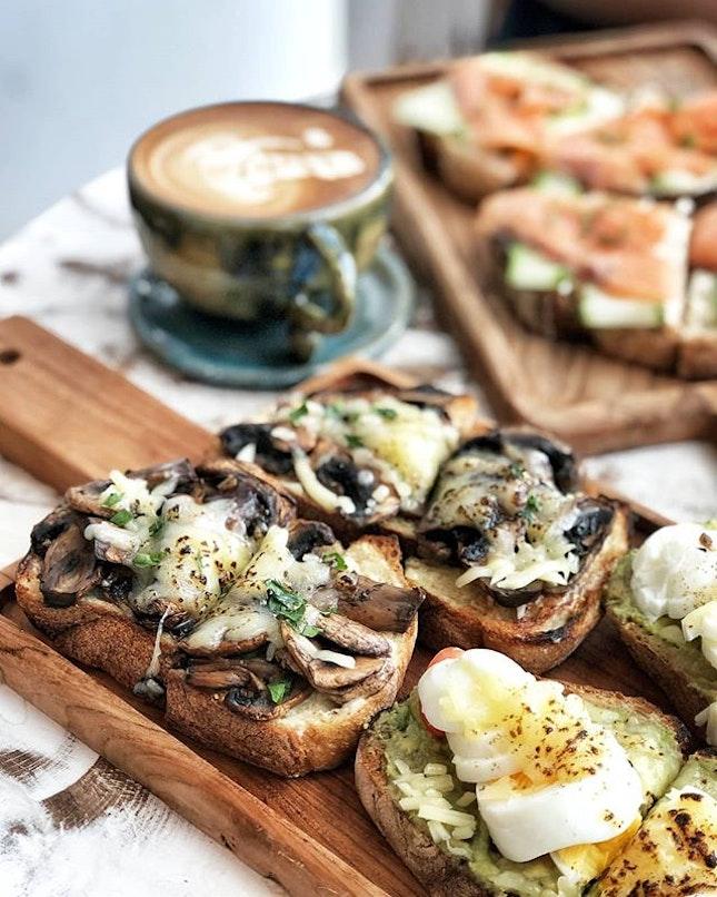 Mushroom toast 🍄🍞