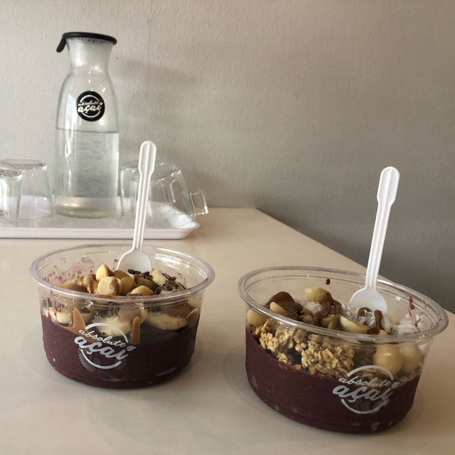 acai bowl ~$9 per bowl before BB