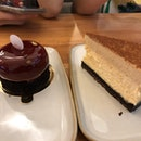 Le Chocolate and Cheesecake $9 each