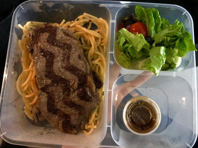 Steak and Prawn $11+ (takeaway menu)