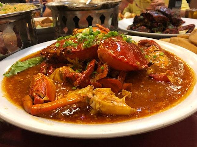 KL Chilli crab.