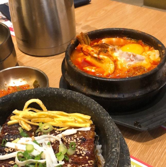 Seafood Tofu Stew