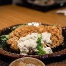 Chicken Namban Teishoku | fried marinated chicken with tartar sauce