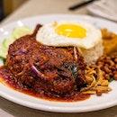 Ayam Masak Merah Nasi Lemak