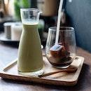 Matcha + Milk Ice Cube Espresso