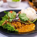 Curry Soft Shell Crab with Rice