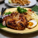 Isaan Spicy Grilled Pork Neck Fried Rice