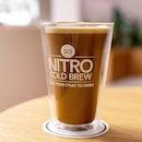 Nitro Cold Brew Vanilla Bean Latte