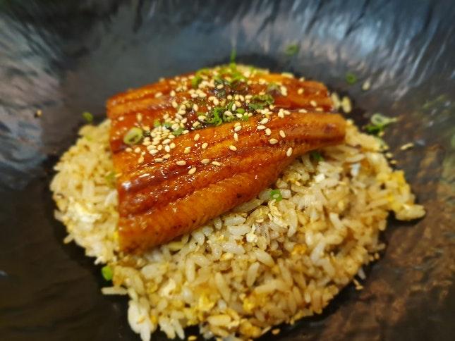 Unagi Garlic Fried Rice