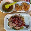 Roasted Duck Drumstick Noodle (S$6.00)