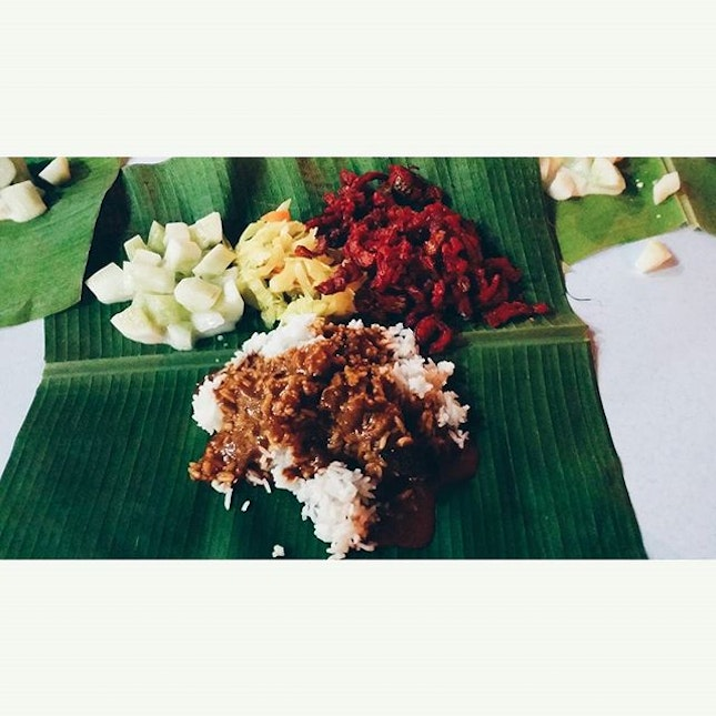 Banana Leaf Rice's night!