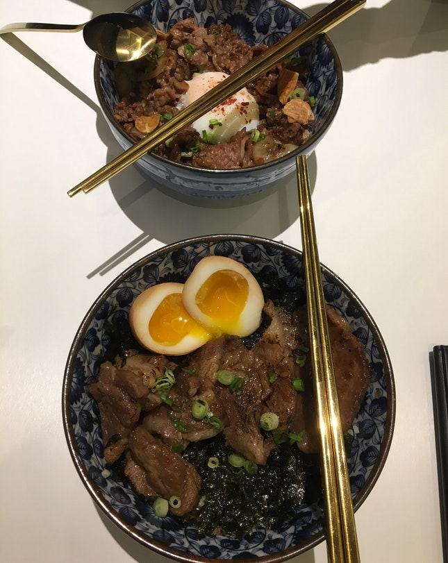 Buta Pork Bowl (~$15.80)