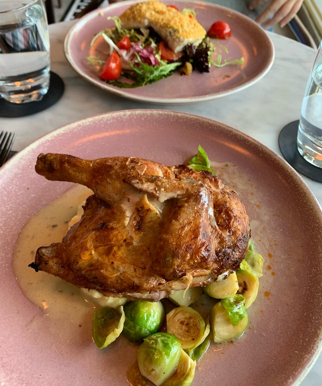 Roasted Baby Chicken ($22)