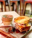 Smokey Shrooms Grilled Cheese ($17)