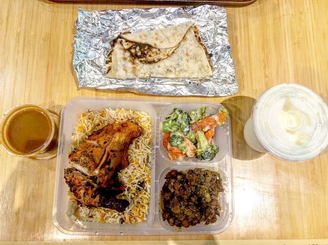 Tandoori Chicken Set And Lassi