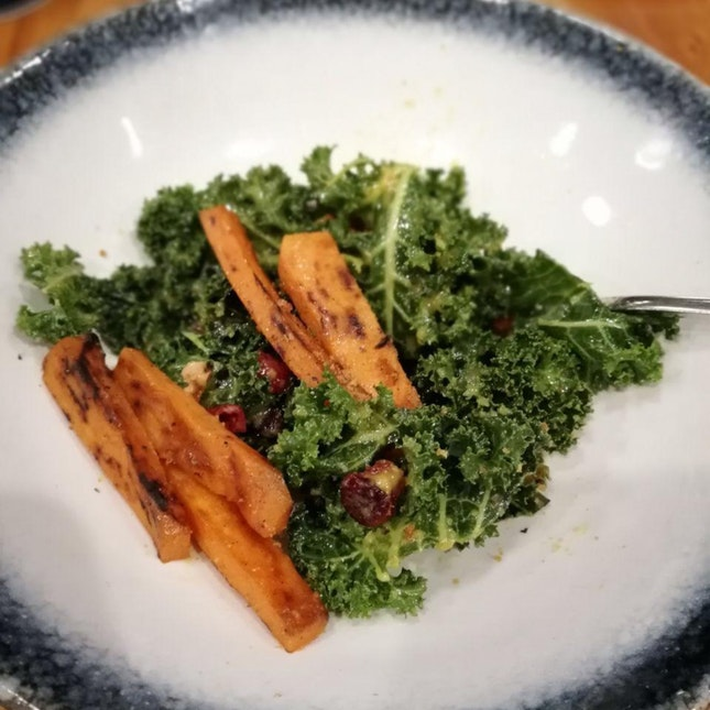 Sweet Potato and Kale Salad (Part Of 3 Course Meal)