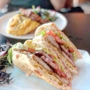 Fried Chicken Sandwich ($21)