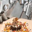 Brownie And Ice Cream ($9.90)