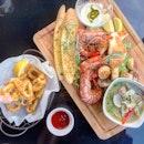 Seafood Platter ($45)
