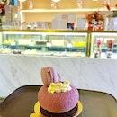 Yuzu Raspberry Cake ($9)